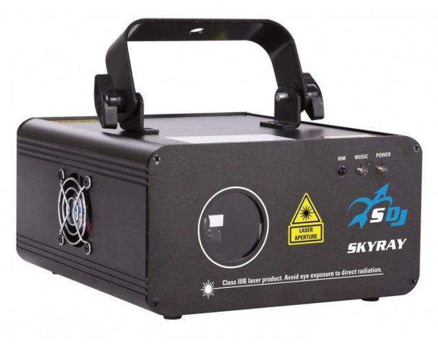 Представляем лазерный проектор SkyRay.