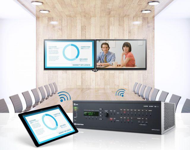 Встречайте! Новейшие презентационные системы 4K60 Digital Media от компании Crestron