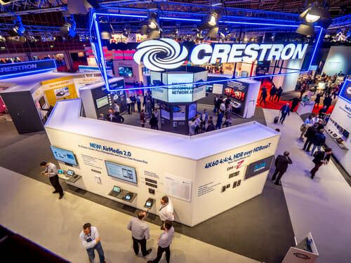 Видеообзор стенда CRESTRON на ISE-2018