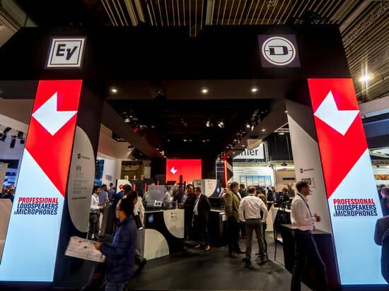 Обзор стенда Electro-Voice и Dynacord на выставке ISE 2018