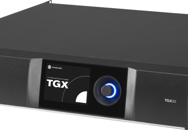 Мы представляем новинку от компании Dynacord усилители TGX– новый флагман инсталляций с концертным звуком