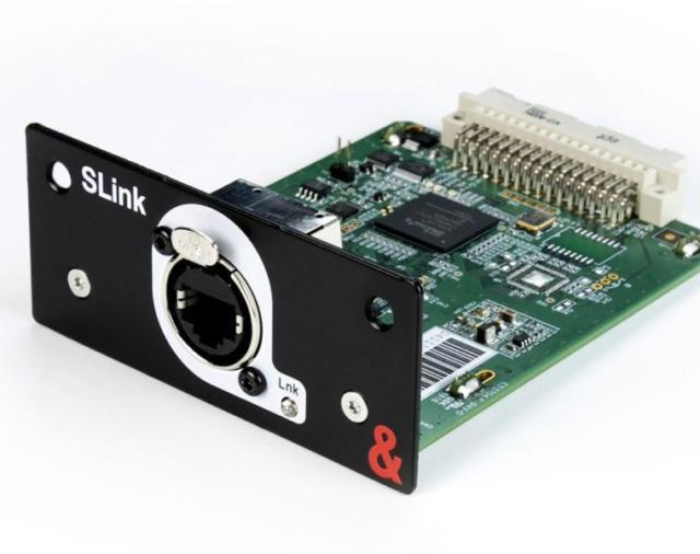 ALLEN & HEATH расширяет возможности своей новой цифровой консоли SQ с новой картой SLink.