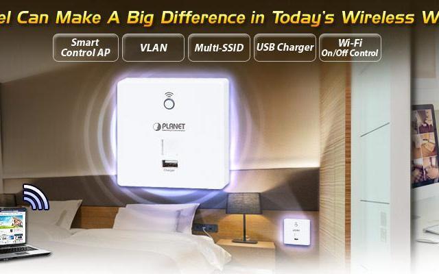 Представляем лучшее решение Wi-Fi  систем для гостиничного бизнеса от компании Planet.