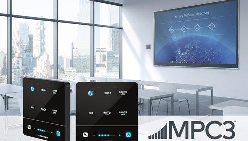 Демонстрируйте Ваши мультимедийные материалы легко и быстро при помощи нового встраиваемого контроллера серии MPC3 производства CRESTRON.
