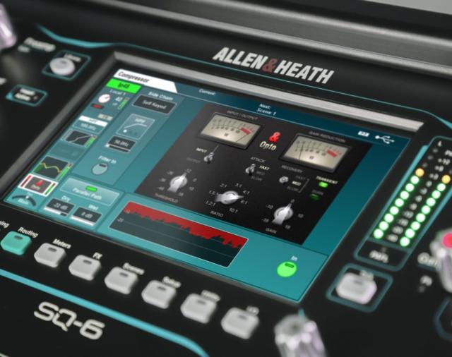 ALLEN & HEATH продолжает расширять возможности серии пультов SQ