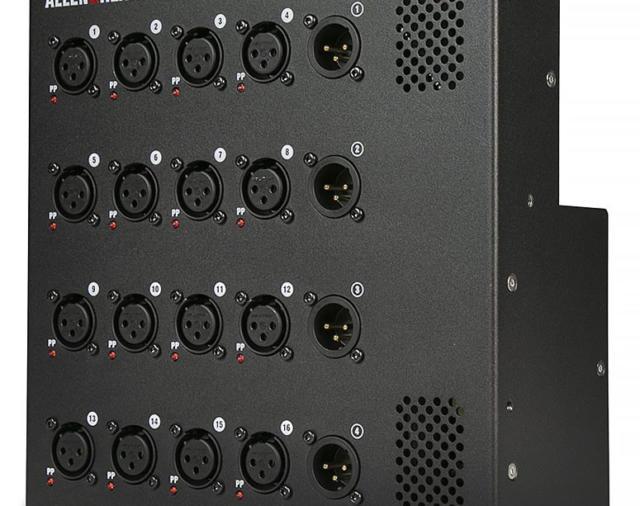 Настенный коммутационный блок для цифровой системы микширования dLive DX164-W