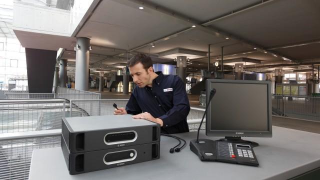 Цифровая система оповещения и управления эвакуацией Praesideo от Bosch обеспечивают предельно четкую передачу речи и звука в торговом центре.
