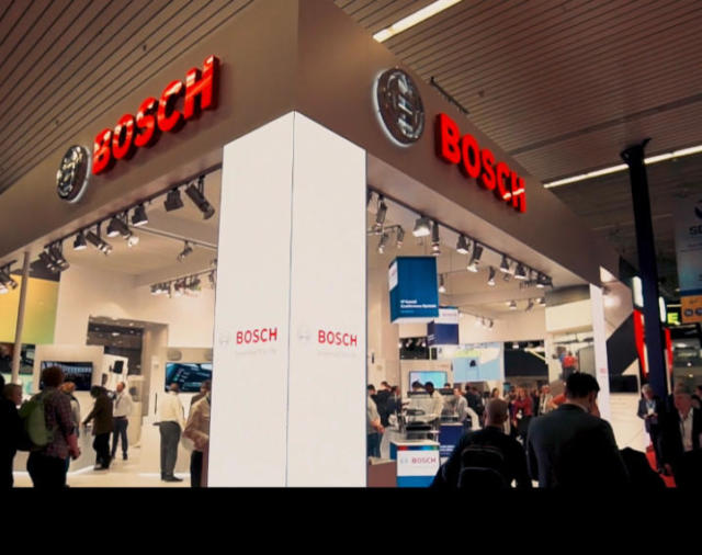 Видеообзор стенда Bosch Security and Safety Systems на выставке ISE 2019.