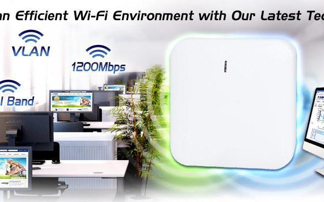 Представляем новинку Wi-Fi систем от компании Planet WDAP-C7200E
