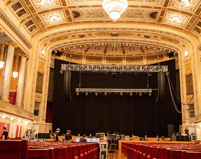 Небывалый тендер с L-Acoustics. Концертный зал Вены обновлён.