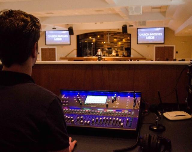 Баптистская церковь в Северной Каролине обновила систему микширования новой консолью от компании ALLEN & HEATH.