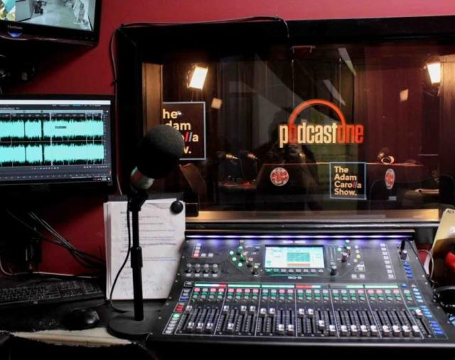 The Adam Carolla Show и Allen & Heath SQ-6