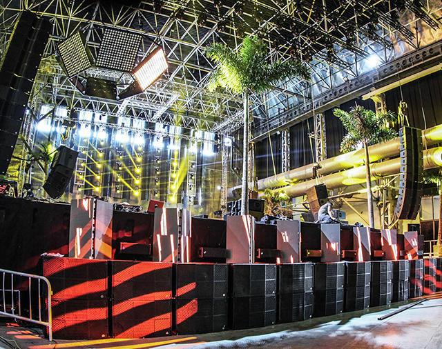 Clair Brothers взрывает крупнейший в мире ночной клуб – Испанский Privilege (Ибица)