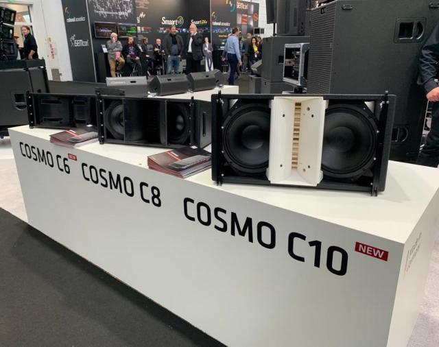 HK Audio представила новые акустические системы на выставке «ProLight&Sound» 2019