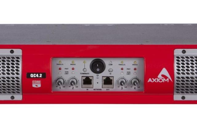 Усилители AXIOM серии QC с DSP Процессором.