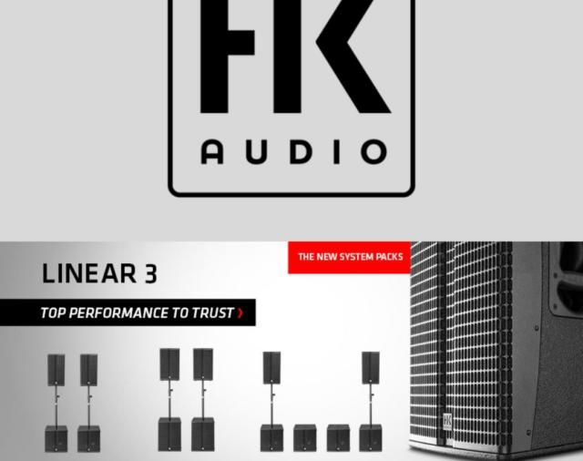 HK Audio, LINEAR 3 - три готовых системных комплекта для групп и диджеев!