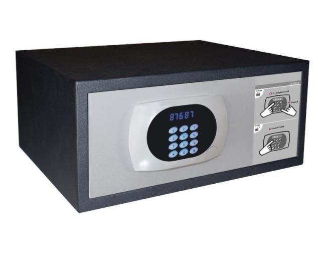 Представляем Вам электронный моторизированный гостиничный сейф от компании Omnitec