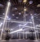 Robe Pointe на SKALAR 360 в Амстердаме: лучи, создающие пространство