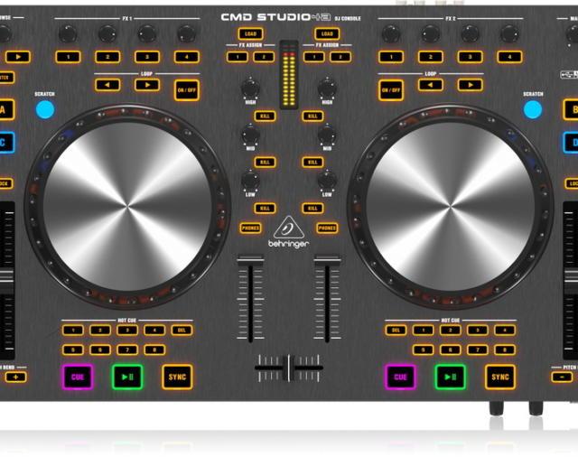 Новинка от компании BEHRINGER: 4-канальный DJ MIDI-контроллер с 4-канальным аудио интерфейсом.