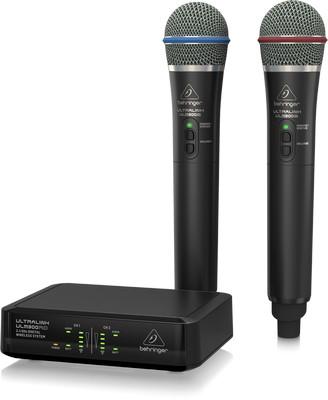 Компания Behringer выпустила цифровую радиосистему 2,4 ГГц с 2 ручными микрофонами и приемником