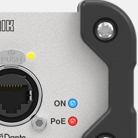 Английская компания Klark Teknik выпустила конверторы аналового аудио сигнала по протоколу DANTE
