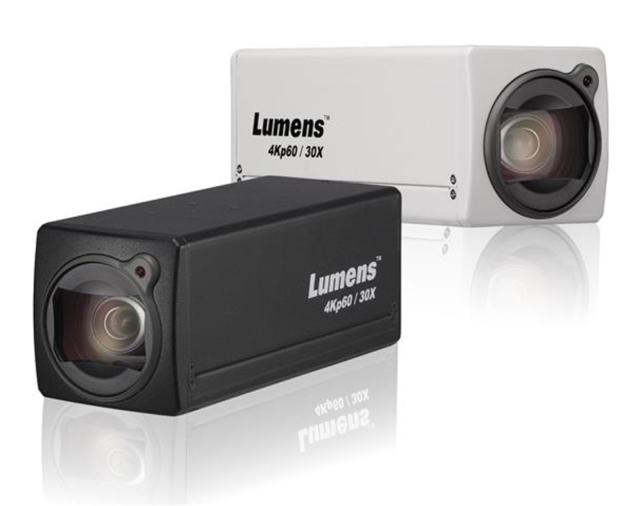 Lumens представляет новую 4К бокс камеру VC-BC701P
