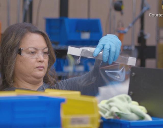 ETC начинает производство защитных масок для работников здравоохранения