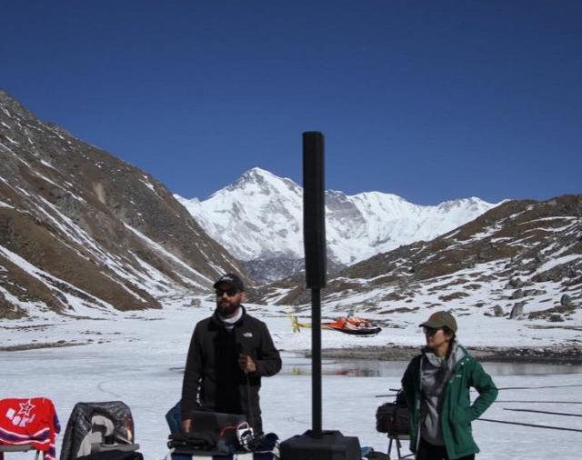 Electro-Voice EVOLVE 50 в Гималаях