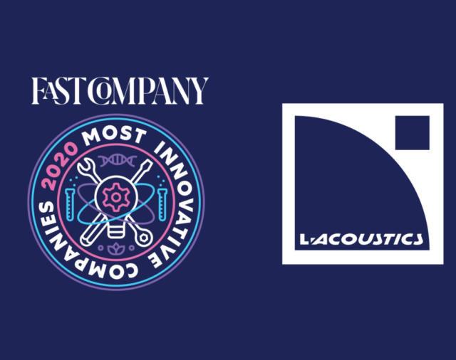 L-Acoustics включена в ежегодный список самых инновационных компаний мира 2020 года Fast Company