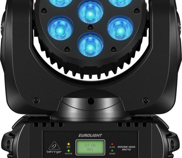 Компания Behringer начала выпуск световых приборов. Представляем вашему вниманию подвижную голову WASH MH710