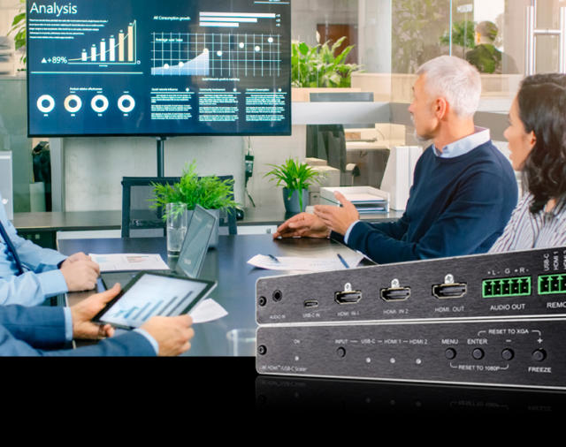 Kramer Electronics выпускает 18G 4K цифровой скалер для HDMI и USB-C