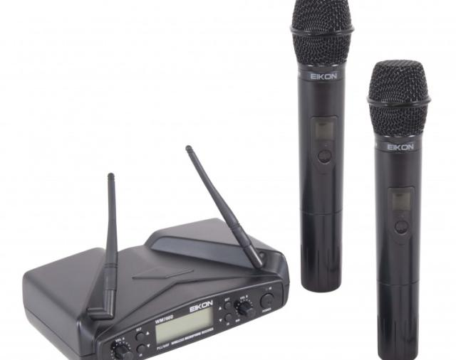 Новинка на складе «Самат шоу техник» – радиомикрофоны Proel WM700DM