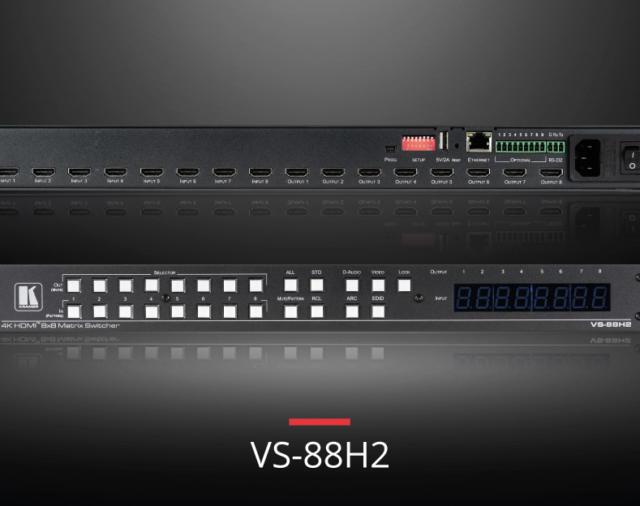 Самое быстрое переключение: Kramer представляет новый 4K@60HZ 8×8 Matrix Switcher