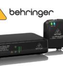 Компания Behringer представляет цифровую беспроводную систему 2,4 ГГц с микрофоном Lavalier, передатчиком и приемником Belt-Pack