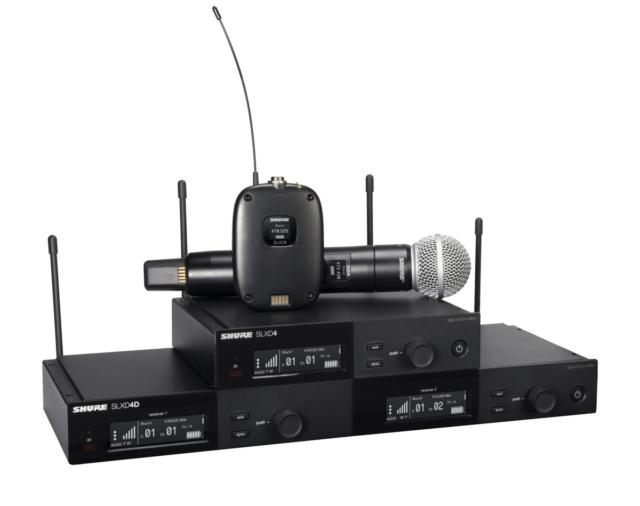 Новая модель Shure SLX-D – цифровая революция!
