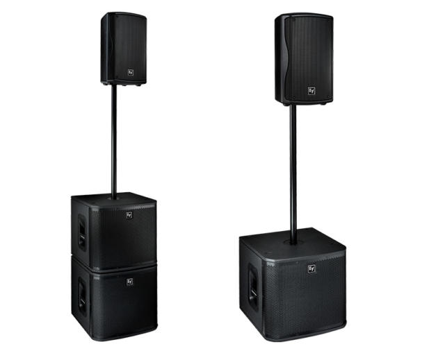 ELECTRO-VOICE ZXA1-Sub - мощный звук при небольших размерах