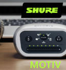 Распаковка, обзор линейки и сравнение - Серия микрофонов MOTIV от Shure!