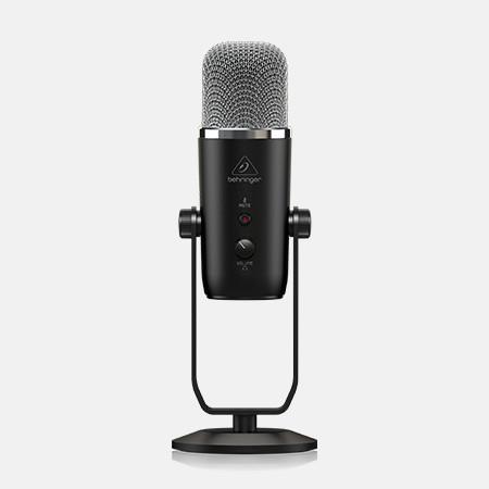Компания Behringer начала выпуск универсального студийного конденсаторного микрофона с USB подключением