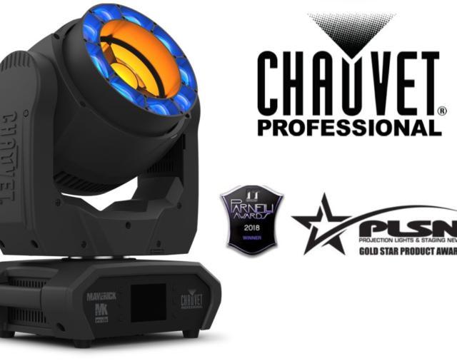 Динамический световой прибор полного движения Maverick MK Pyxis  от CHAUVET