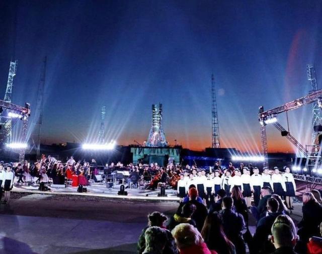 L-Acoustics Kara на космодроме Байконур