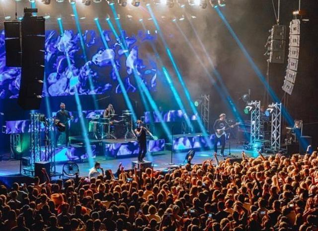 Dynacord Cobra на выступлении The Rasmus в Almaty Arena