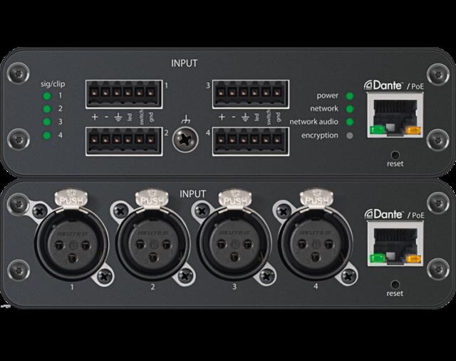 DSP и аудио сетевые интерфейсы Shure для конференций