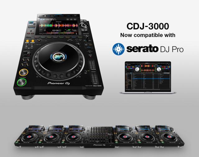 Pioneer CDJ-3000 официально поддерживает Serato DJ Pro