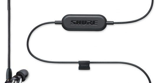 Компания Shure объявила о выпуске Bluetooth-наушников.