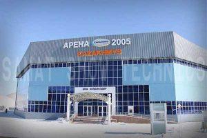 "Ледовый дворец ""Арена-2005"", г. Сатпаев"