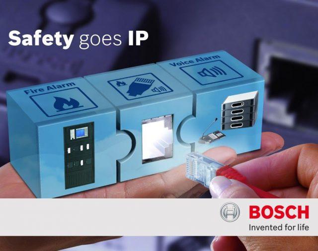 """Компания """"Самат шоу техник"""" представляет Smart Safety Link: интегрируемая система пожарной сигнализации и речевого оповещения от Bosch Security Systems"""