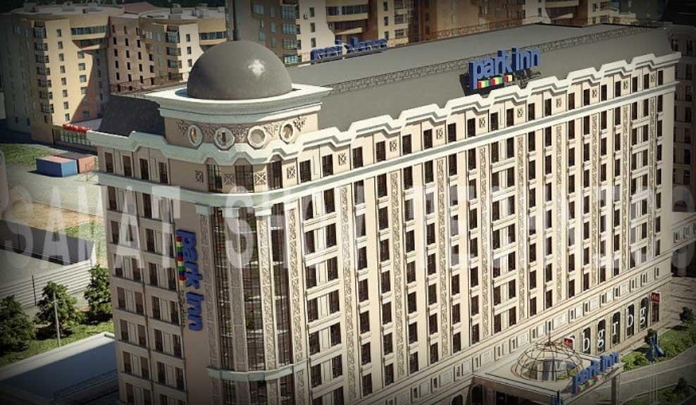 """Отель """"Park Inn"""", г. Астана"""