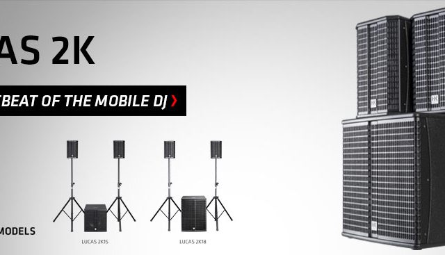 «HK Audio» анонсировала новую серию активных акустических систем «Lucas 2K»!