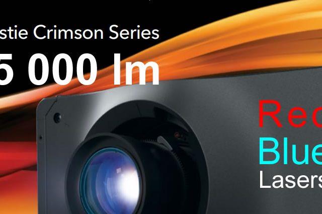 Мы представляем новейшие 3DLP проекторы производства Канадской компании CHRISTIE – Crimson Series 25 000 люмен с 2-цветным лазерным источником света