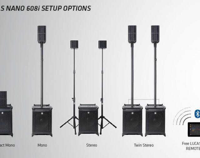 HK Audio Lucas Nano 608i – активная акустическая система с поддержкой управления через iPad